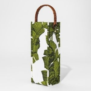 Accessories - Palm Wine Bag with Rattan Handles